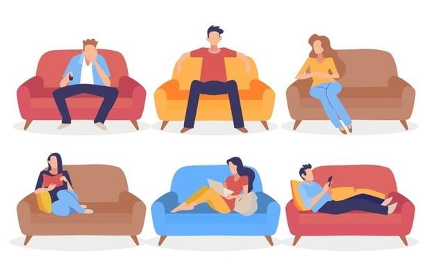El sedentarismo ayuda a abusar de posturas incorrectas